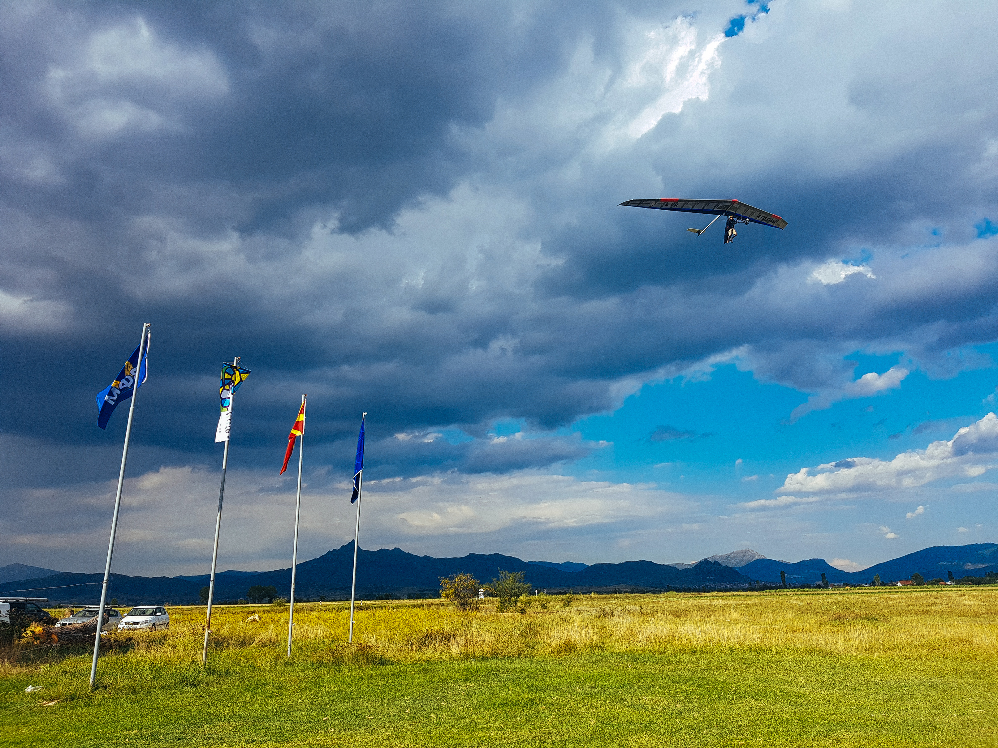 Hang Glider over Krusevo 2018